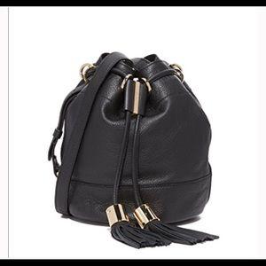 NWT See by Chloe Vicki cross body bucket bag.